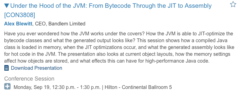 CON3808 Under the Hood of the JVM: From Bytecode to Assembly